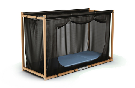 mobil mit dem kinder reisebett gulliver freistil. Black Bedroom Furniture Sets. Home Design Ideas